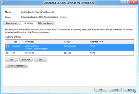 advanced-security-setting-for-uxtheme.dll-1