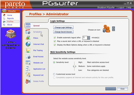 ParetoLogic-PGsurfer-Profiles-Set-Up