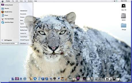 Snow-Leopardt-hemefor-Windows8