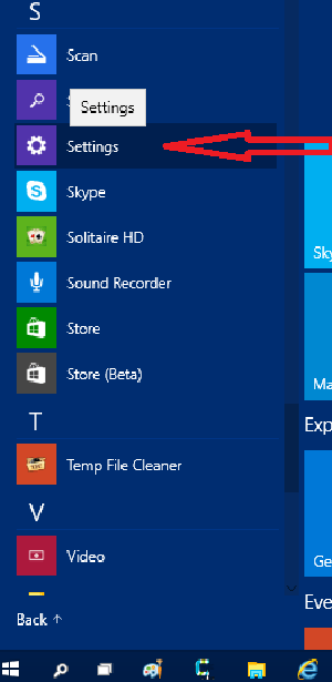 settings-on-start-menu-windows10